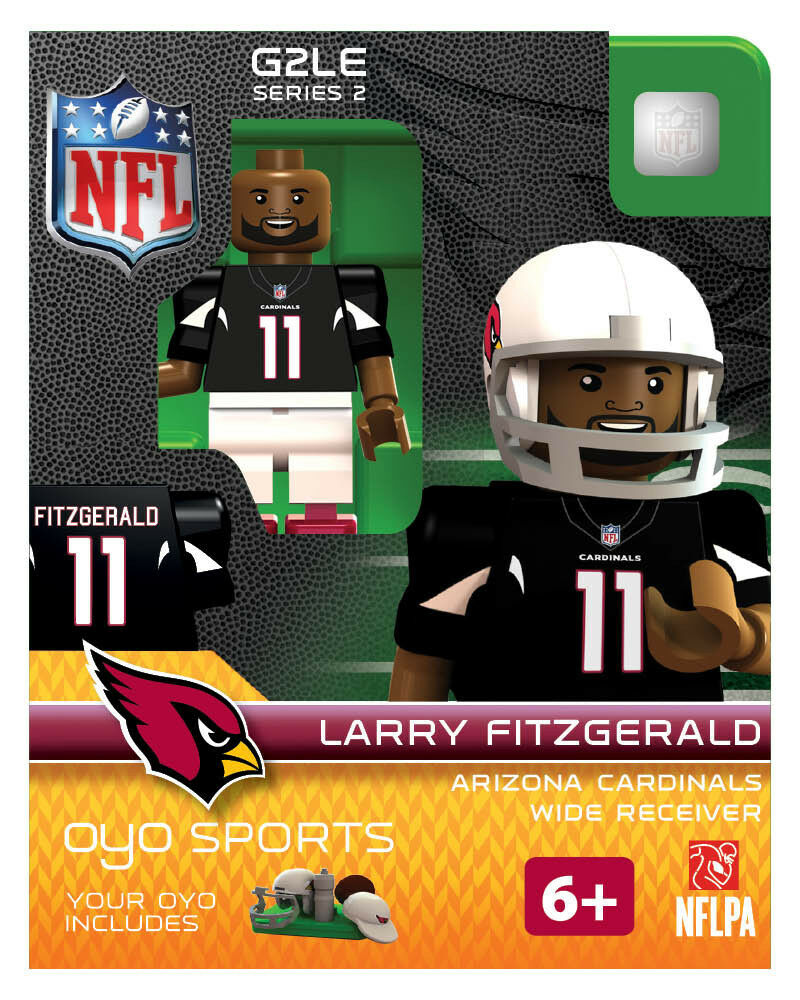 Larry Fitzgerald Oyo Arizona Cardinals Nfl Mini Figure New