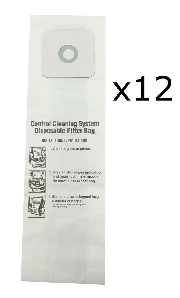 Central Vacuum Bags For Nutone 391 391 8 3918 44186 12