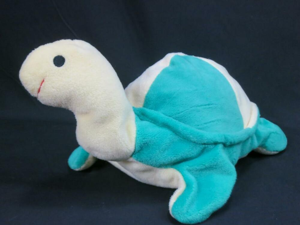 Animal Planet Pillow Pal : TY PILLOW PALS SNAP 1996 YELLOW GREEN TURTLE PLUSH STUFFED ANIMAL TOY 8
