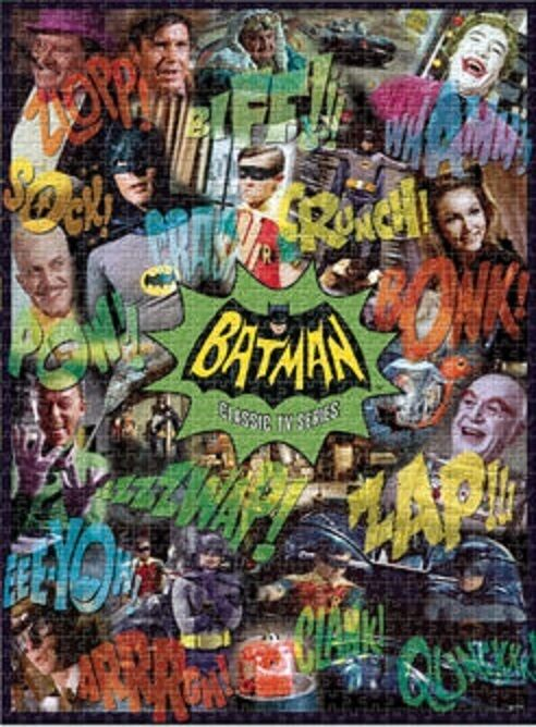 jigsaw puzzle entertainment batman and robin the tv series. Black Bedroom Furniture Sets. Home Design Ideas