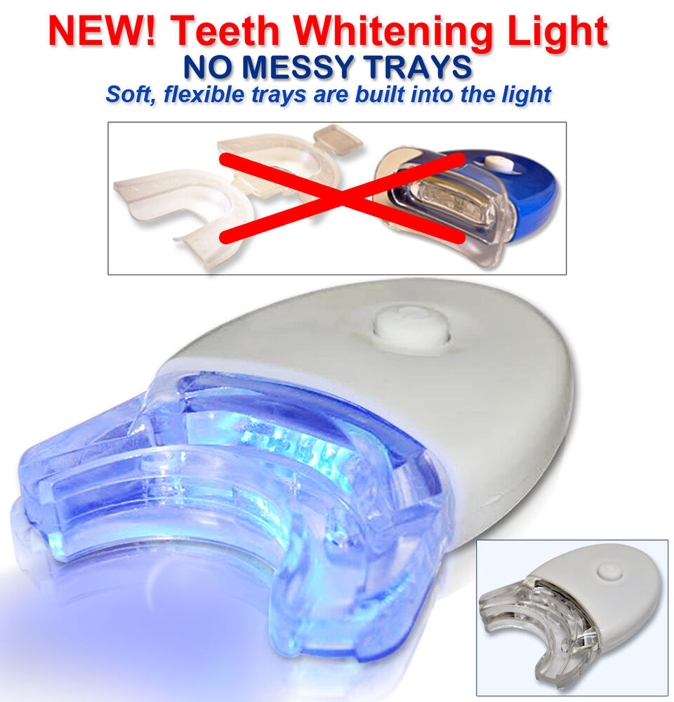new led blue light accelerator white light teeth whitening no mess. Black Bedroom Furniture Sets. Home Design Ideas
