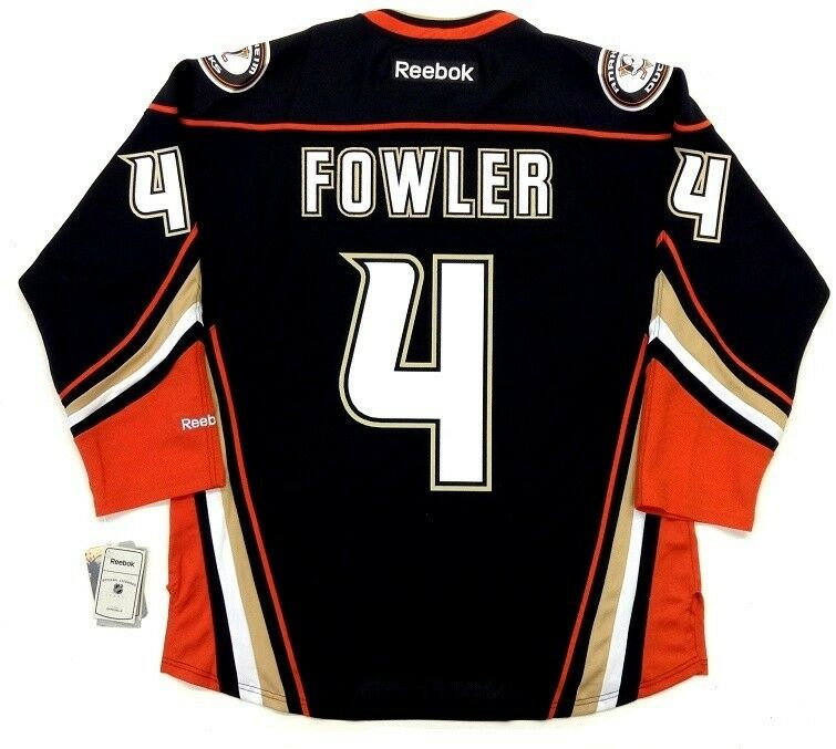 competitive price a067c a6da9 Details about CAM FOWLER ANAHEIM DUCKS REEBOK NHL PREMIER THIRD JERSEY NEW  WITH TAGS
