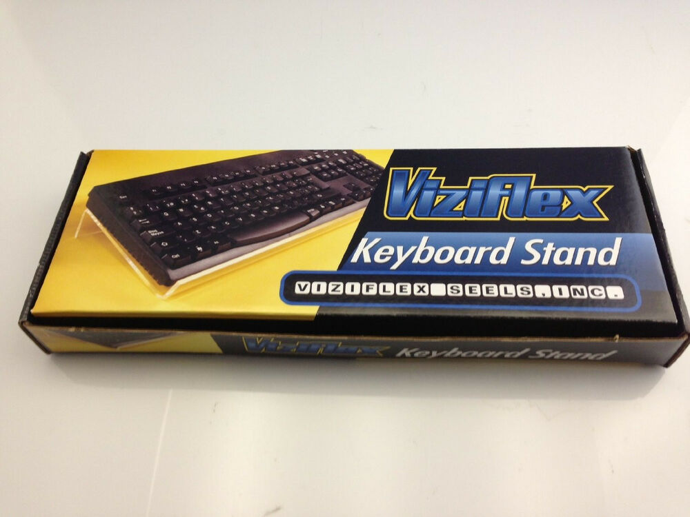 Viziflex Angled Keyboard Stand Improving Typing Speed And