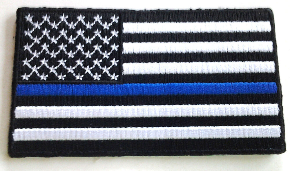 law enforcement american flag - photo #1