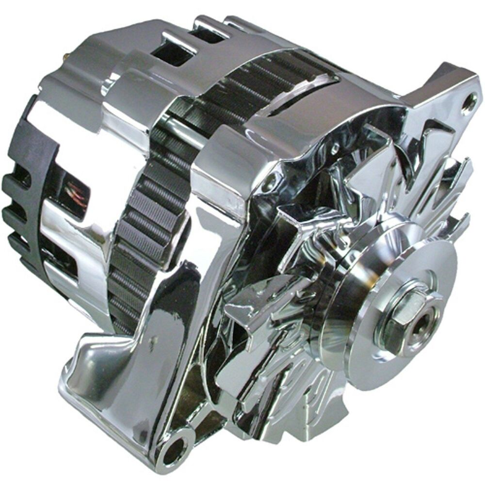 Chromehi Output 220 Amps 1 Wire Self Exciting Gm Alternator