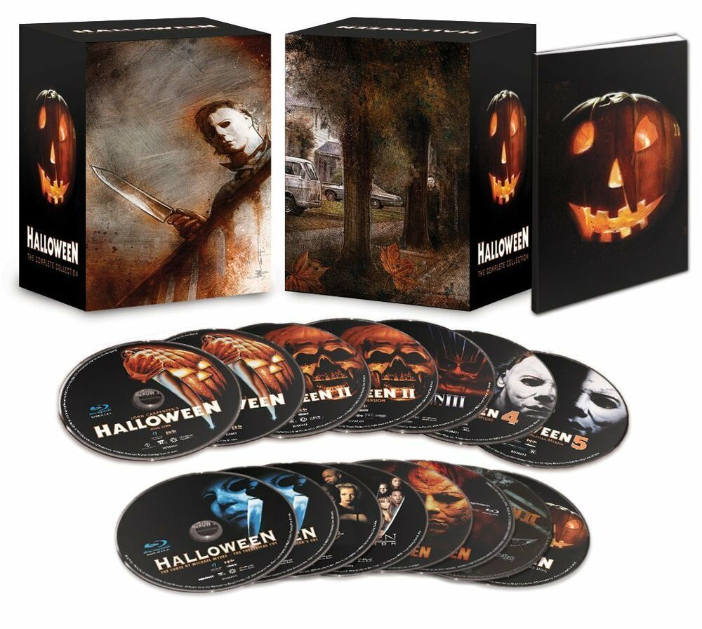 Halloween Complete Movie Collection LIMITED EDITION Blu ...