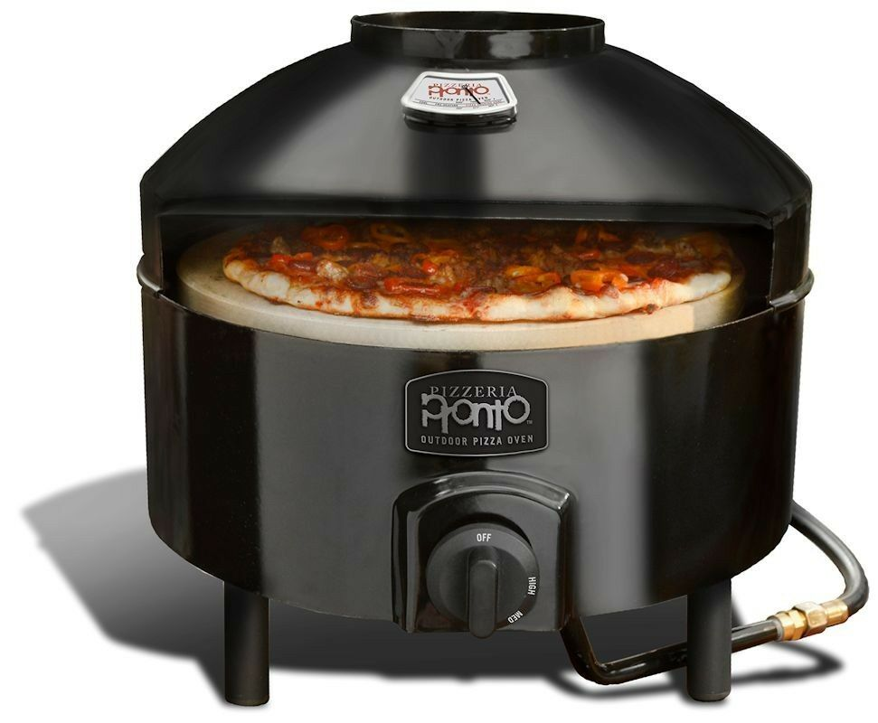portable pizza oven pizzacraft pizzeria pronto portable propane powered 28639