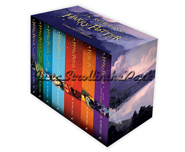 Harry Potter Book Uk ~ Harry potter the complete series boxed set collection