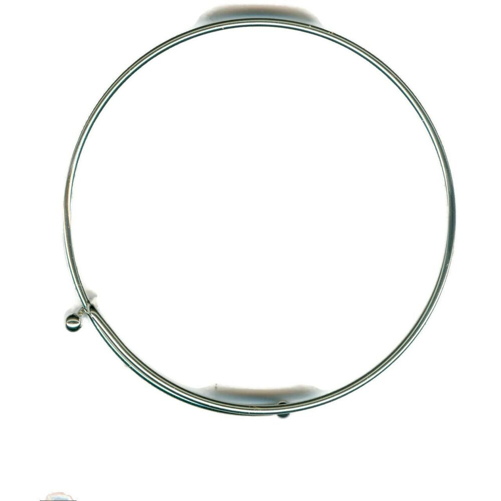 Wire Bangle Charm Bracelet: Lot Of 25 Sterling Silver EP Expandable Charm Wire Bangle