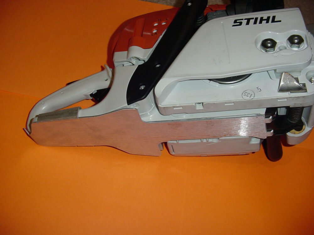 Stihl chainsaw ms261 ms291 ms271 tank guard protection plate new custom ebay - Stihl ms 291 ...
