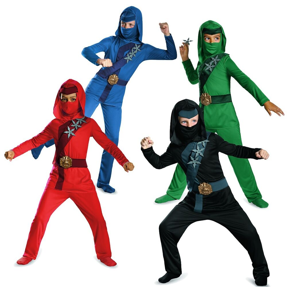 ninja costume kids halloween fancy dress ebay. Black Bedroom Furniture Sets. Home Design Ideas