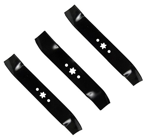Mtd Mower Blades : Mtd model at h lawn tractor replacement blade set