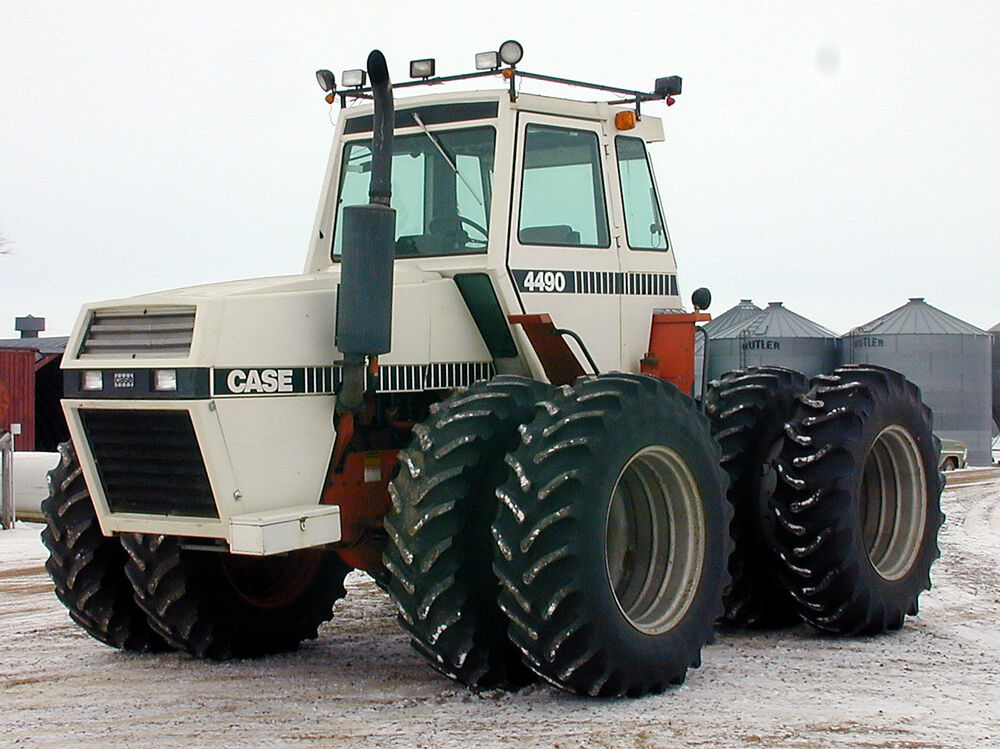 Case 4490 Tractor : Case tractor or hood fender decal stripe