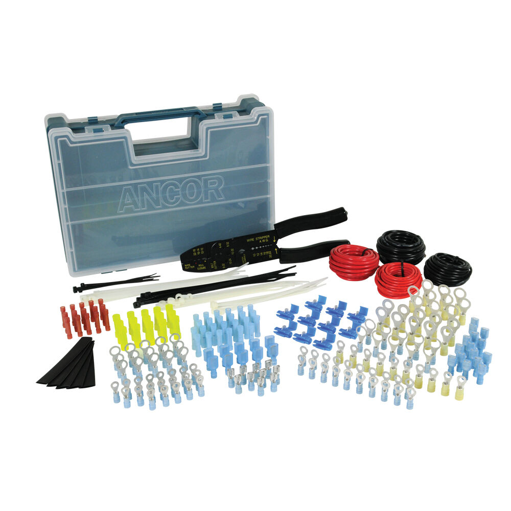 Marine Tool Kits For Boats : Boat marine rv ancor piece electrical repair kit w