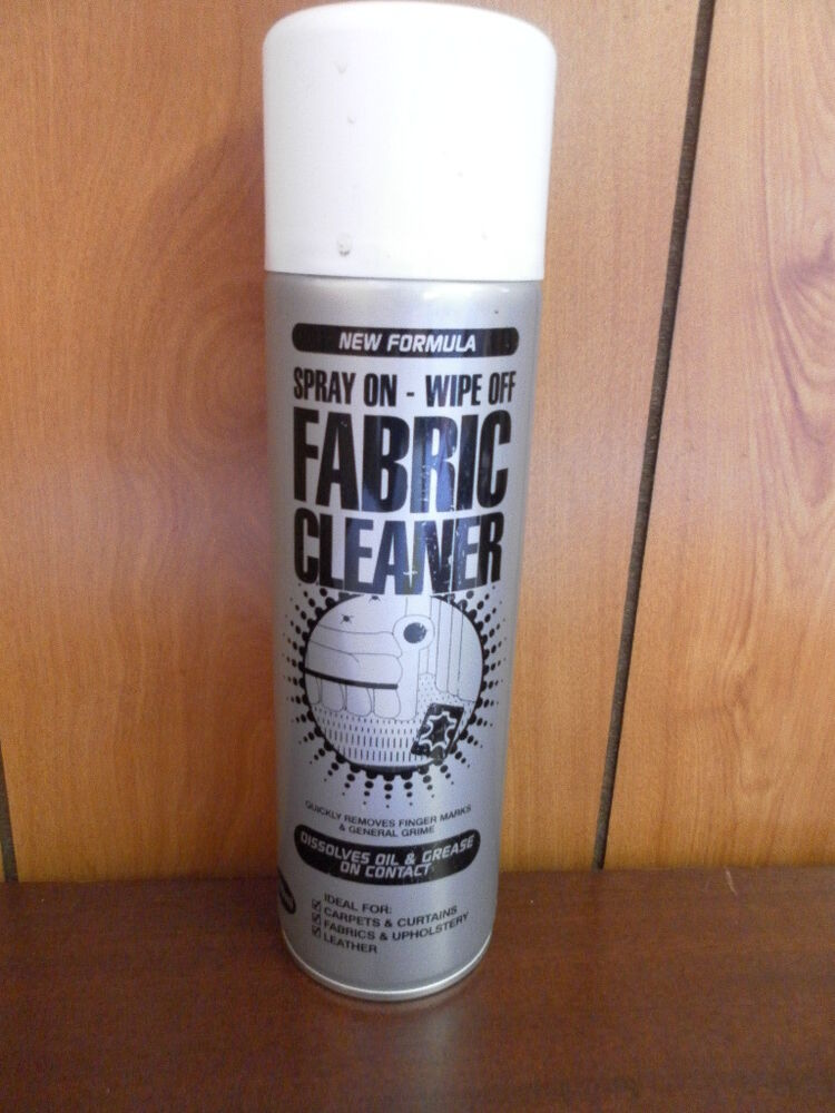 fabric cleaner spray deep cleaning foaming fabric cleaner. Black Bedroom Furniture Sets. Home Design Ideas