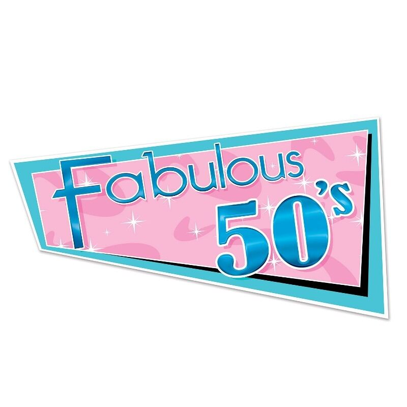 Fab 50 People: Fabulous 50's Cutout - 1950's Rock And Roll Party