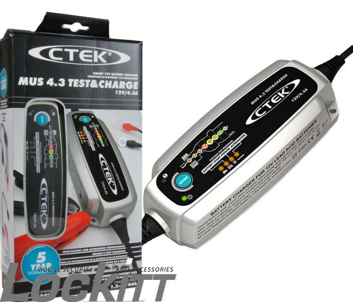 CTEK MUS 4.3 Test & Charge Battery Charger 56-959