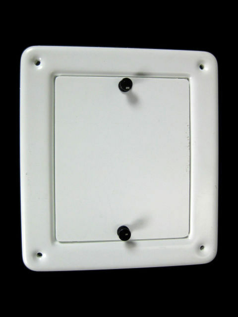 Fuse Box Access Door : New boat fuse block access panel white quot rv camper