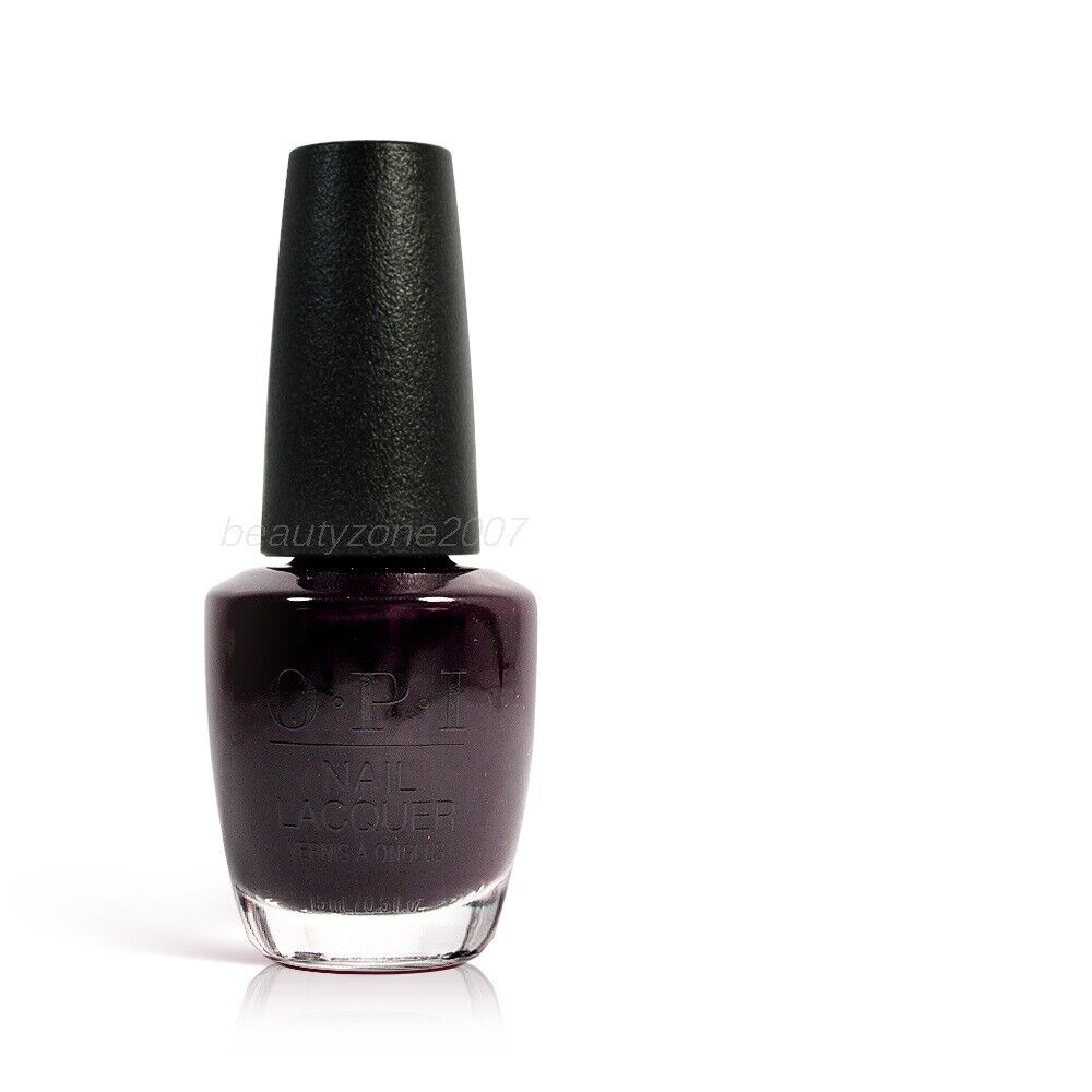 Black Nail Polish Ebay: Opi Nail Polish Lacquer W42 Lincoln Park After Dark 0
