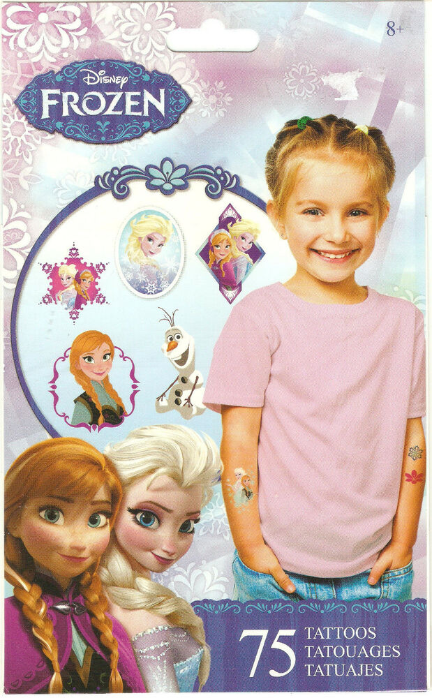 sandylion disney movie frozen 75 temporary tattoos for