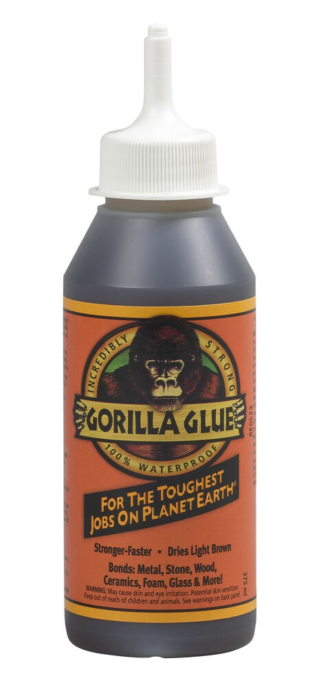 1 X 250ml Gorilla Glue Super Tough Waterproof For Wood