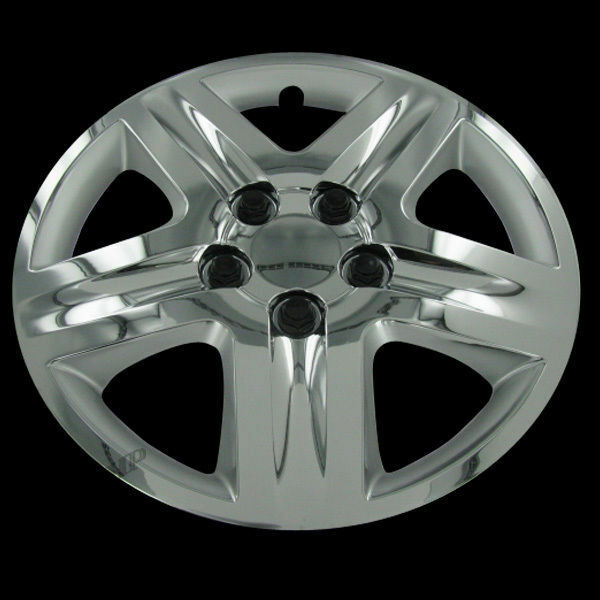 "Set of four 16"" Chrome Hubcaps Hub Caps Rim Covers for ..."