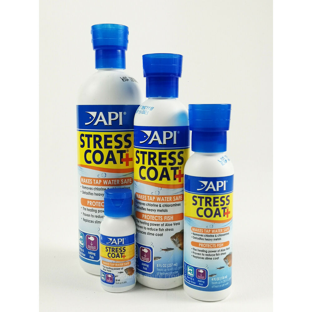 Api Stress Coat Aquarium Fresh Water Conditioner Fish Tank