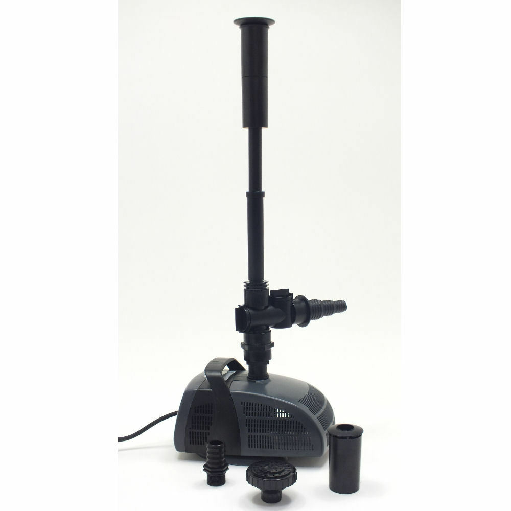 Jebao fish pond fountain water feature pump submesrible ebay for Pond water pump