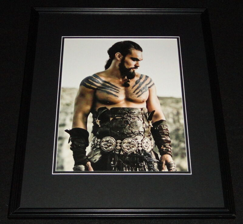 Jason Momoa Game of Thrones Framed 11x14 Photo Poster : eBay