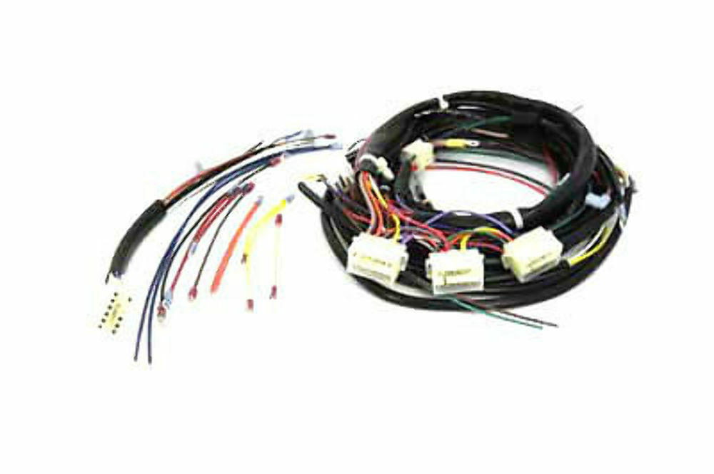 stock softail builders wiring harness color code harley