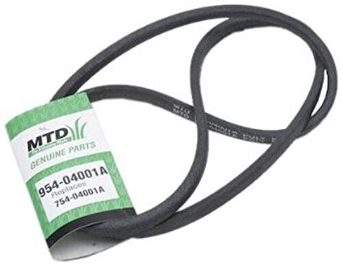 Mtd Lawn Mower Tractor V Belt Replacement 954 04001a Ebay