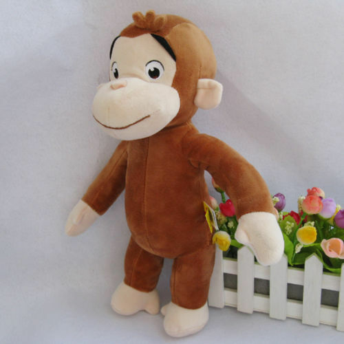 Curious george man in the yellow hat plush