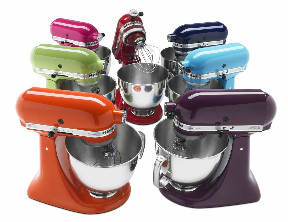 kitchenaid stand mixer tilt 5 qt rrk150 refurb of ksm150ps artisan tilt allmetal ebay. Black Bedroom Furniture Sets. Home Design Ideas