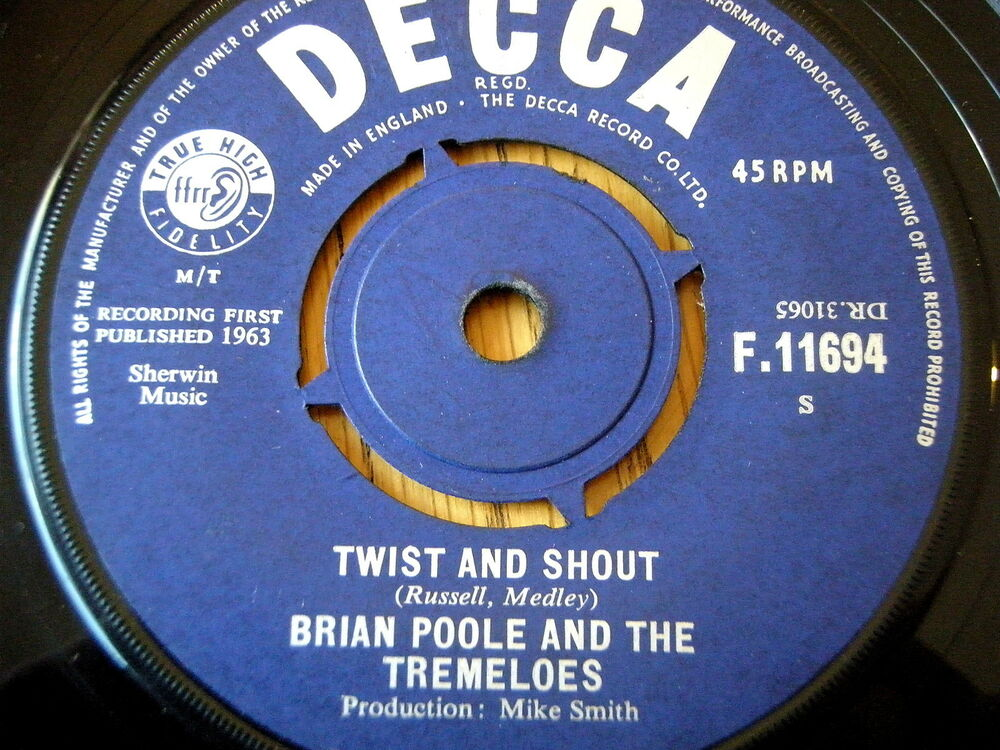 Brian Poole The Tremeloes Big Hits Of 62