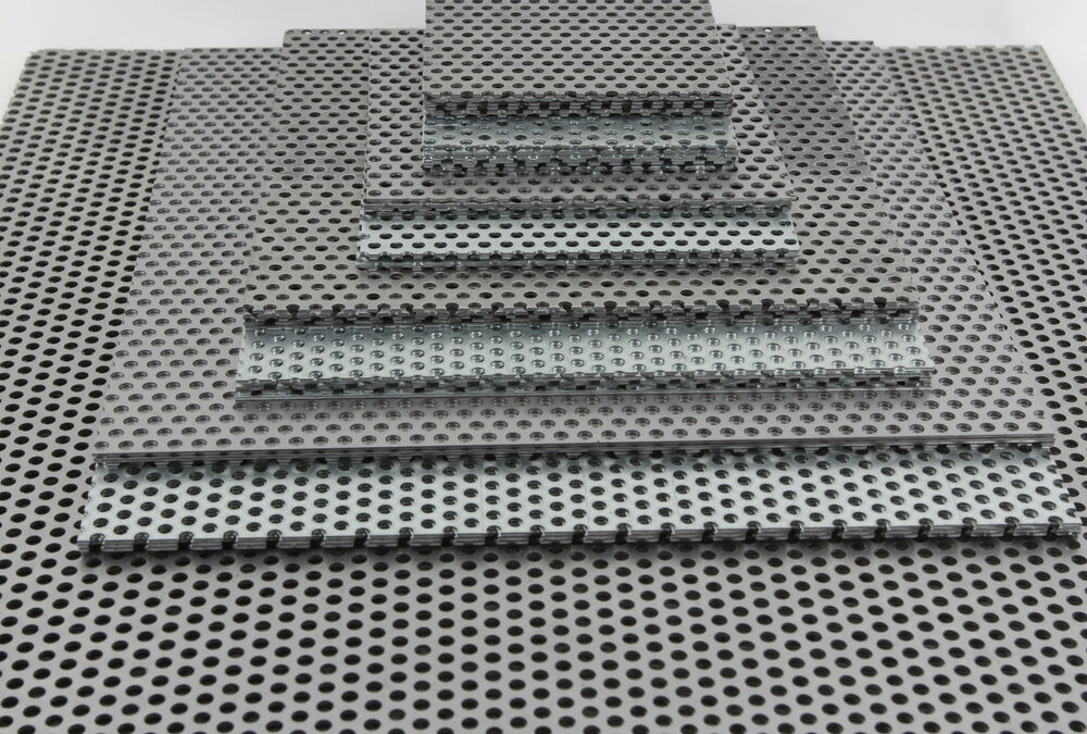 Mild Steel Perforated Sheet 1 Mm Thick 3 Mm Holes 5 Mm
