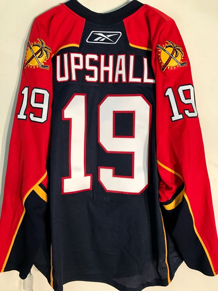 78fd581369d Details about Reebok Authentic NHL Jersey Florida Panthers Scottie Upshall  Navy sz 46