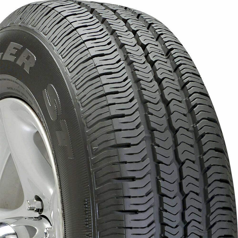 4 new p225 75 16 goodyear wrangler st 75r r16 tires 30215 ebay. Black Bedroom Furniture Sets. Home Design Ideas