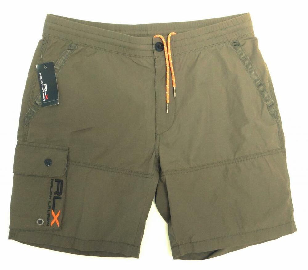 Rlx Ralph Lauren Signature Green Shorts Swim Shorts Trunks