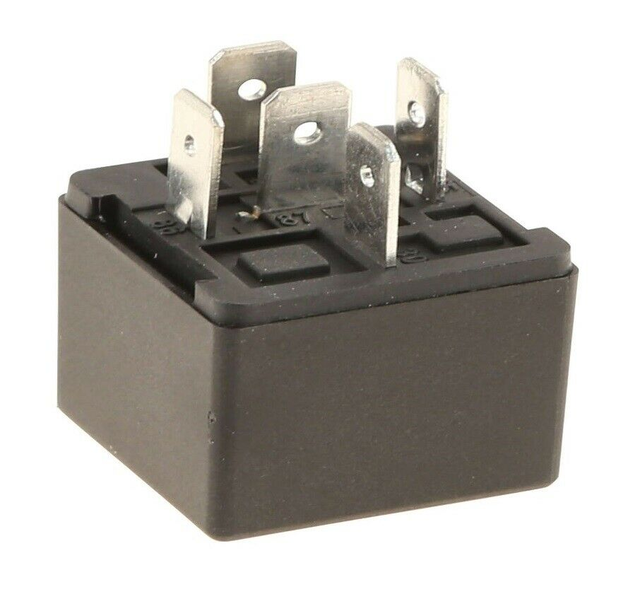 New Bmw E30 E28 Fuel Injection Relay 5 Pin Silver With