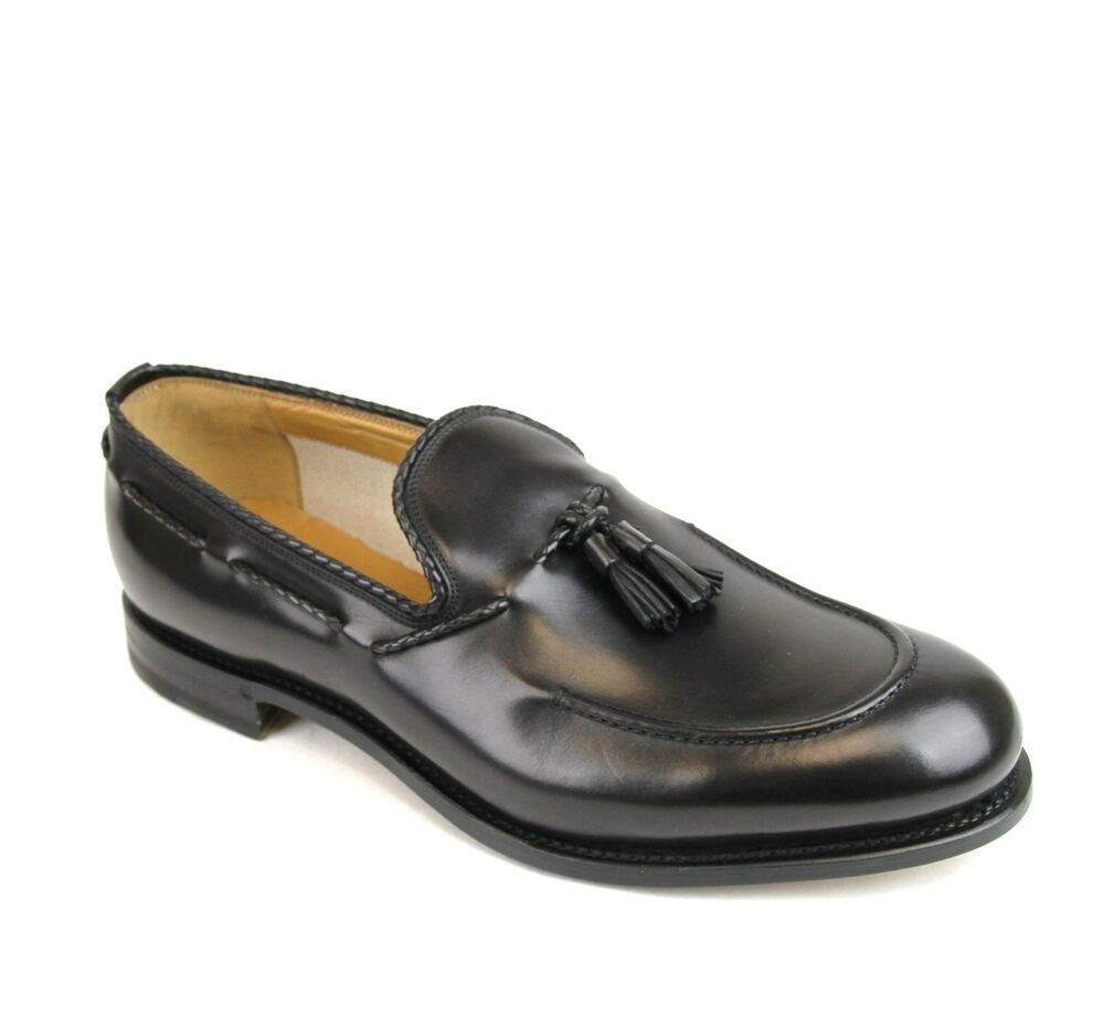 $780 New Authentic Gucci Mens Leather Dress Shoes Loafer w ...
