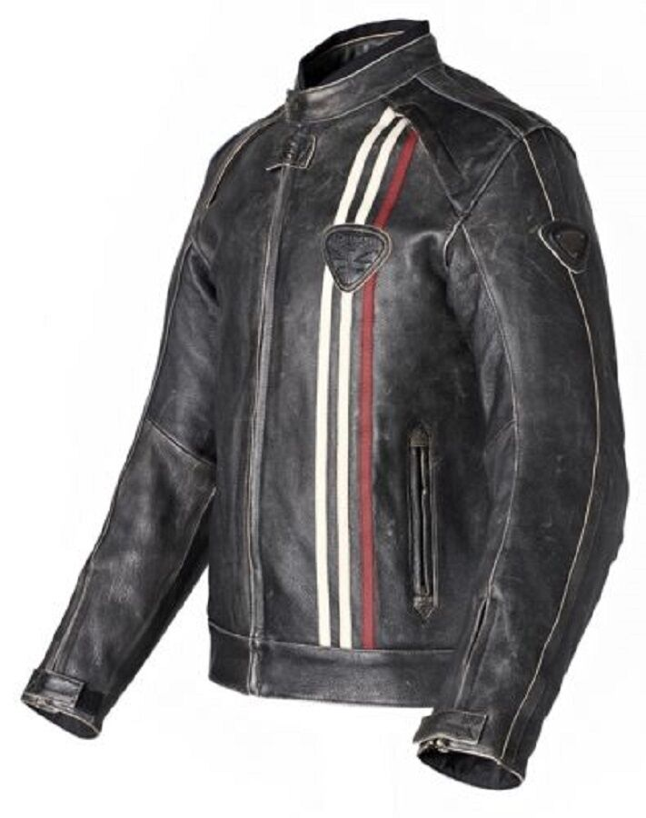 triumph raven jacket mlhs13005 retro motorrad lederjacke. Black Bedroom Furniture Sets. Home Design Ideas