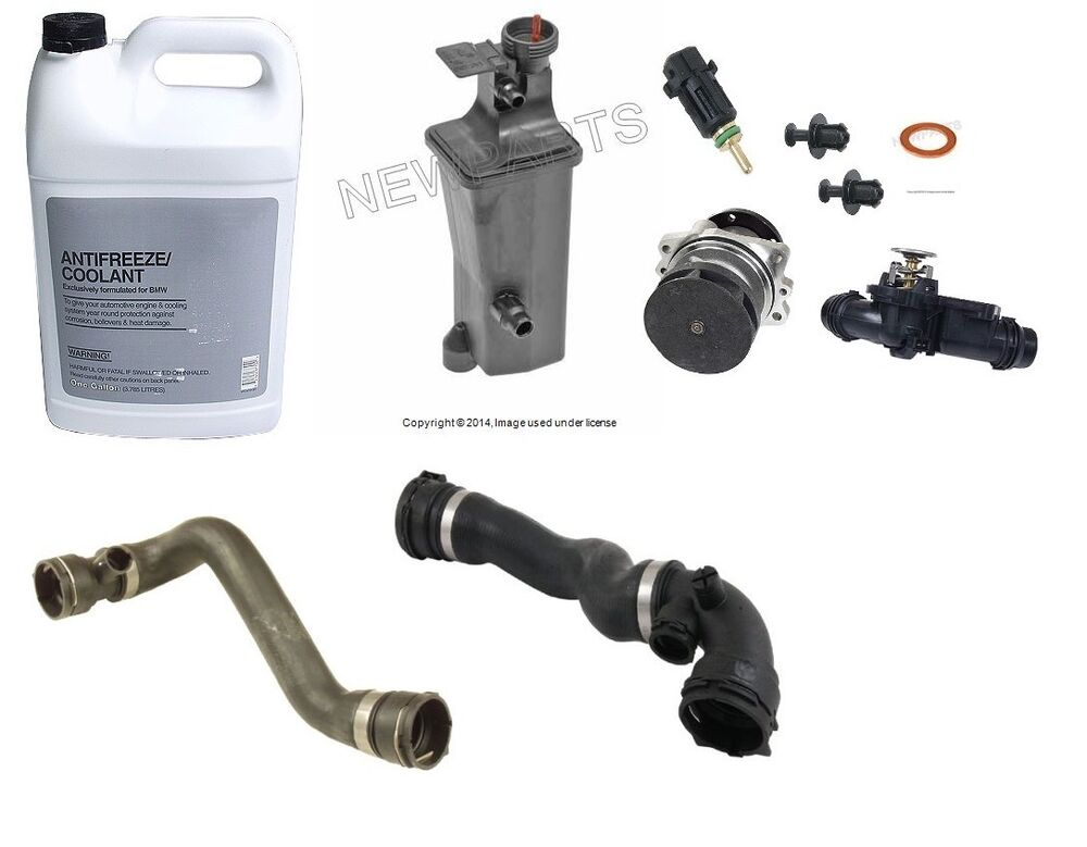 Bmw E46 E90 Cooling System Overhaul Kit Water Pump Coolant