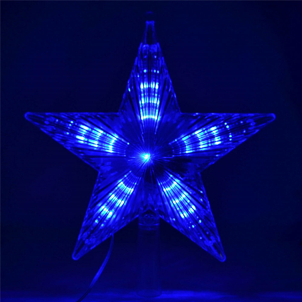 Blue Star String Lights : five-pointed star LED Fairy String Light For Christmas Xmas Tree Decoration eBay