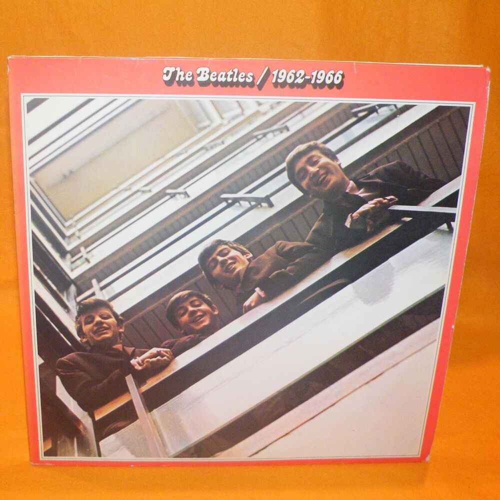 Emi Apple Records The Beatles 1962 1966 12 Quot Double Lp Album Vinyl Rare Ebay