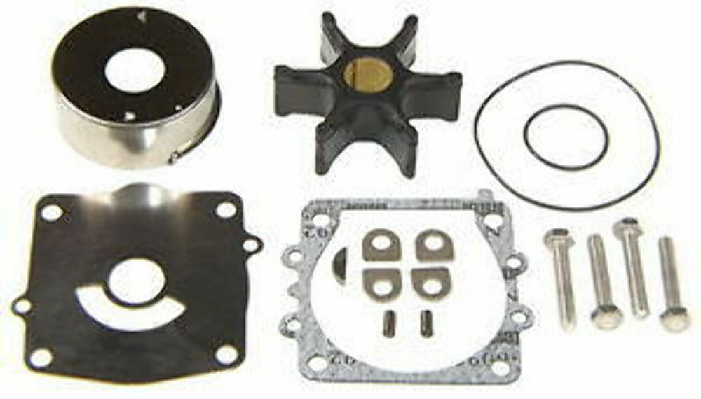 yamaha outboard 150 175 200 225 250 hp v6 water pump impeller repair kit 92