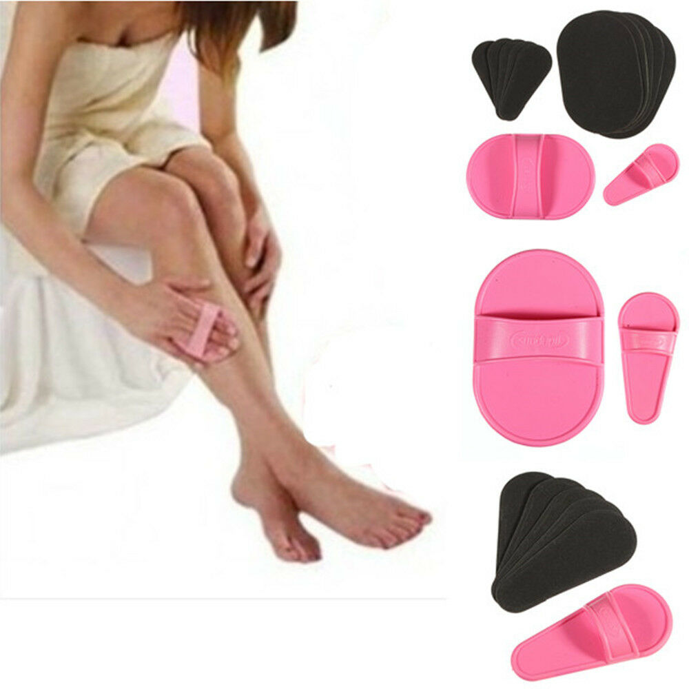 Pro Smooth Legs Skin Pads Arm Face Upper Lip Hair Removal