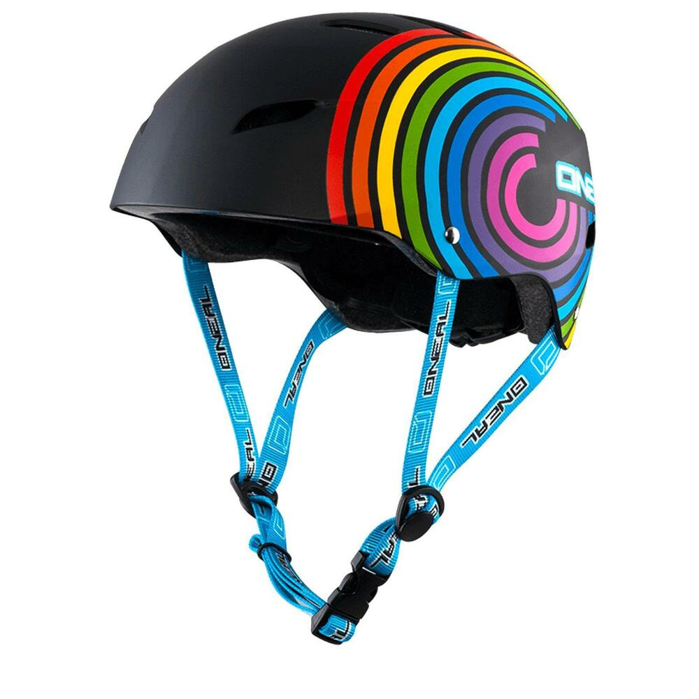 oneal dirt lid kinder helm rainbow bmx mtb skate inliner. Black Bedroom Furniture Sets. Home Design Ideas