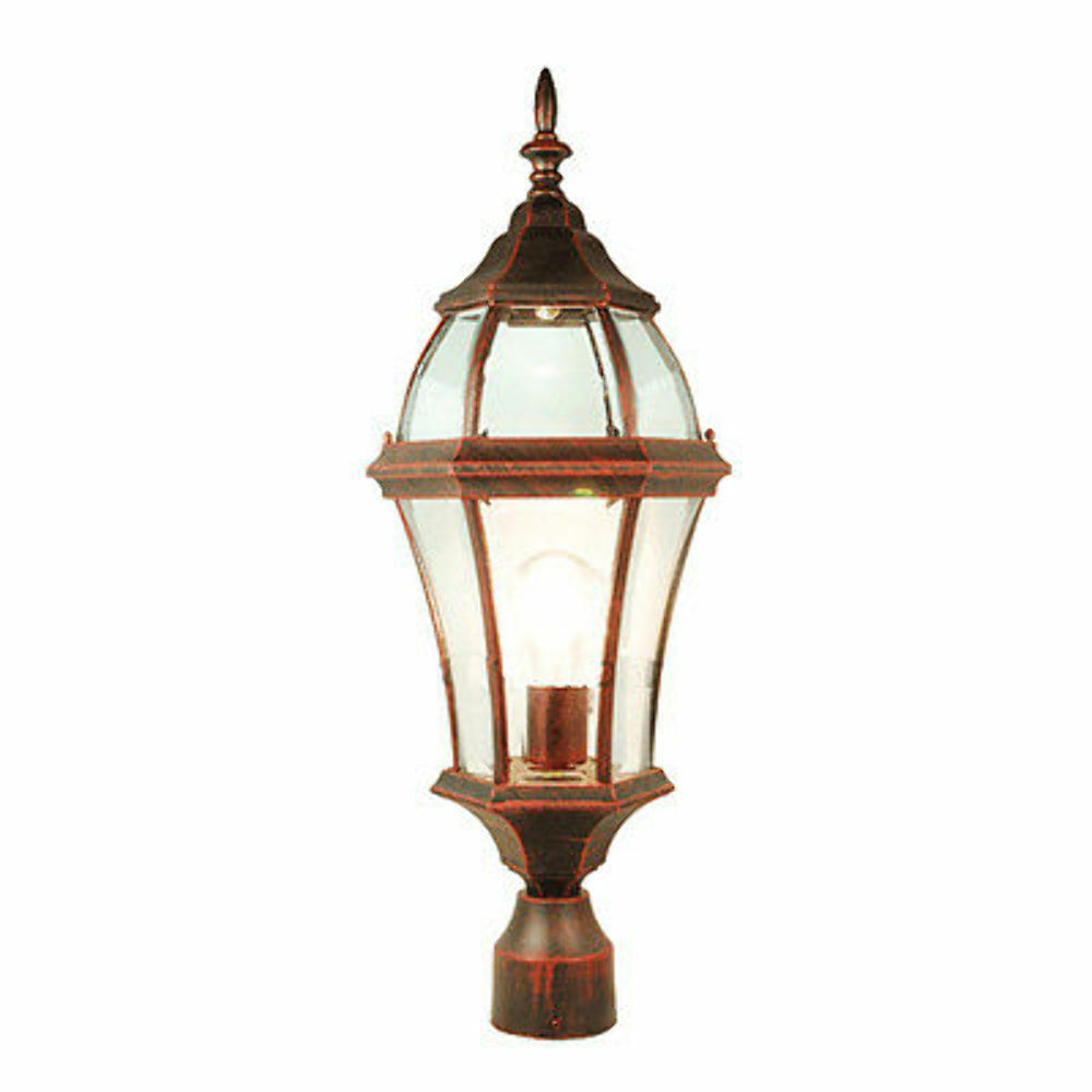 TP Matt Copper Color Ooutdoor Pillar Post Light Lighting