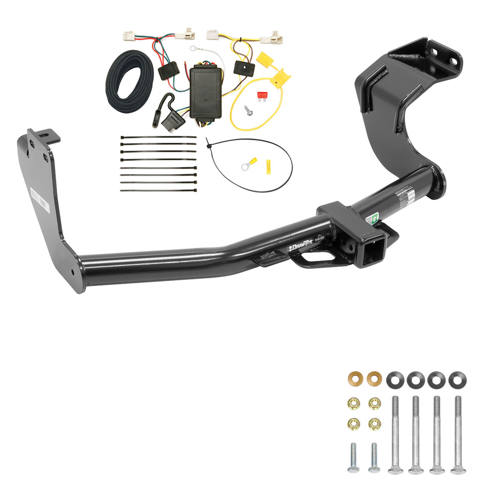 2014-2017 MITSUBISHI OUTLANDER HITCH & WIRING KIT CLASS III 2 INCH TRAILER TOW | eBay