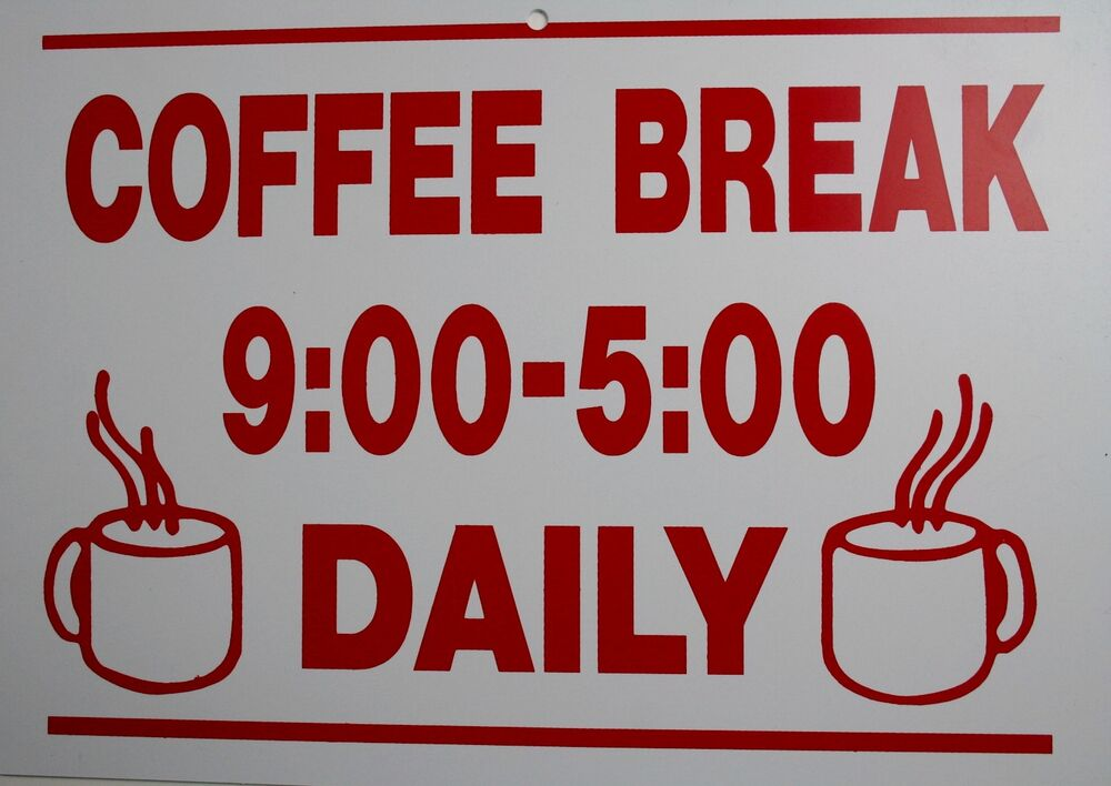 Man Cave Gag Gifts : Funny man cave sign plastic coffee break 9 5 daily cup travel mug